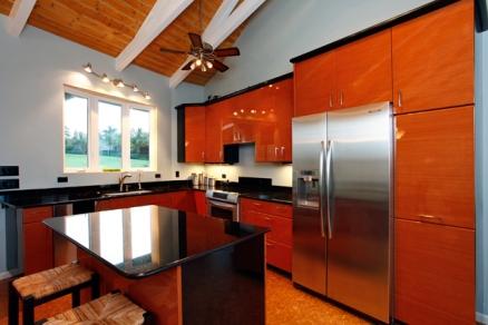 Luxury Kitchen at 425 Manawai Place, Haiku, Maui, Hawaii