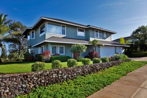The Residences at Kulamalu Golf Course home with Ocean Views for sale on Maui!