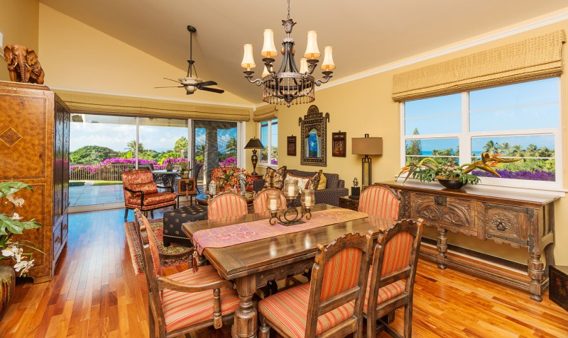 Maui Luxury condo with ocean, golf course views! Kai Malu at Wailea 32B