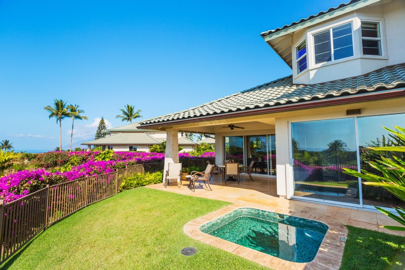 Maui Luxury condo with ocean and golf course views for sale. Kai Malu at Wailea 32B