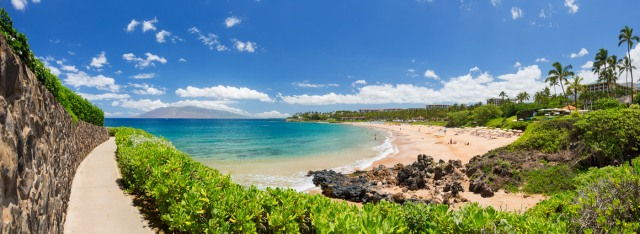 Wailea Beach , Maui, Hawaii