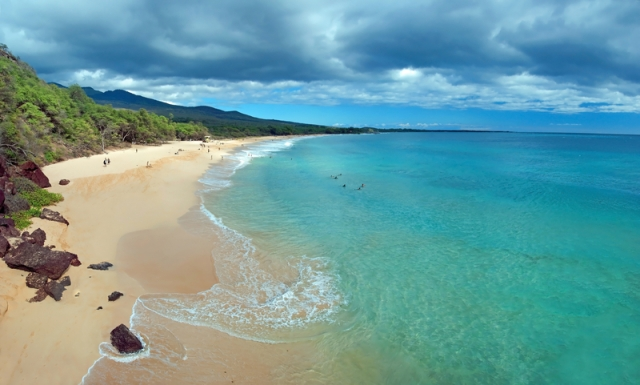 Big Beach, Makena, Maui, Hawaii