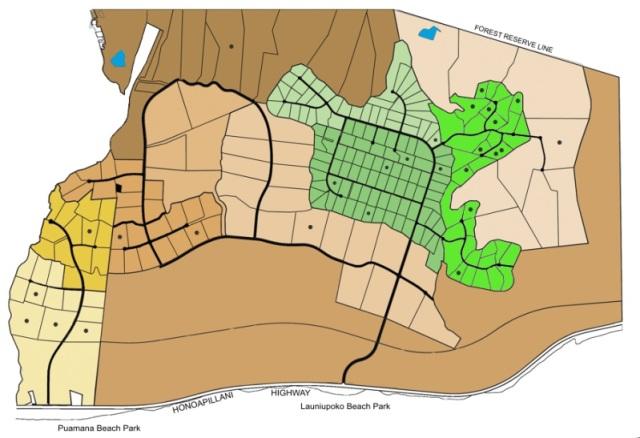 Launiupoko, Maui  site map