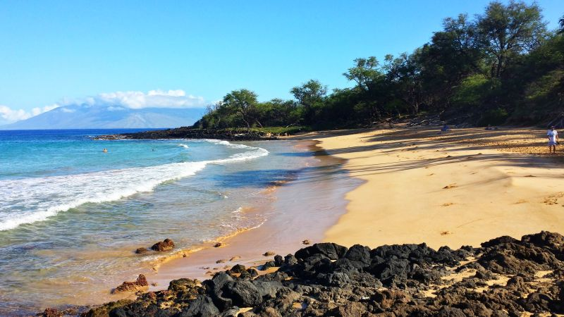 Little Beach in Makena, Maui, Hawaii