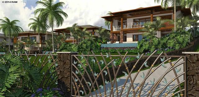 Makena Sunset (Artist Rendering with Custom Padilla gates)
