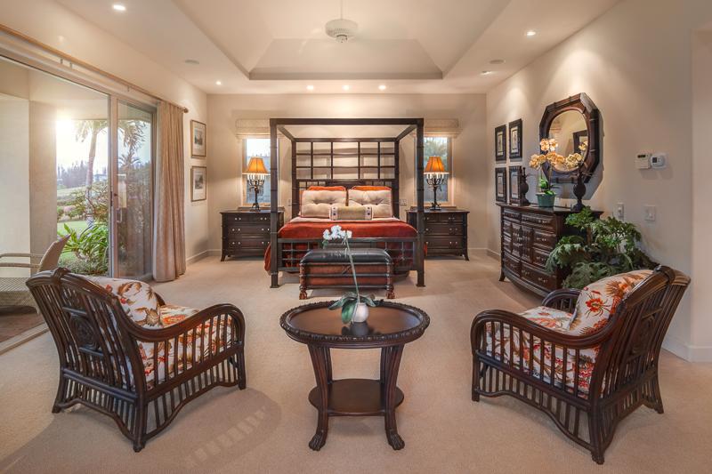 Pineapple Hill Estates home at 116 Pulelehua Master suite
