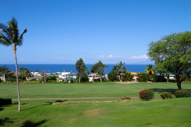 Your Ocean and Golf Course View from Wailea Fairway Villa K201