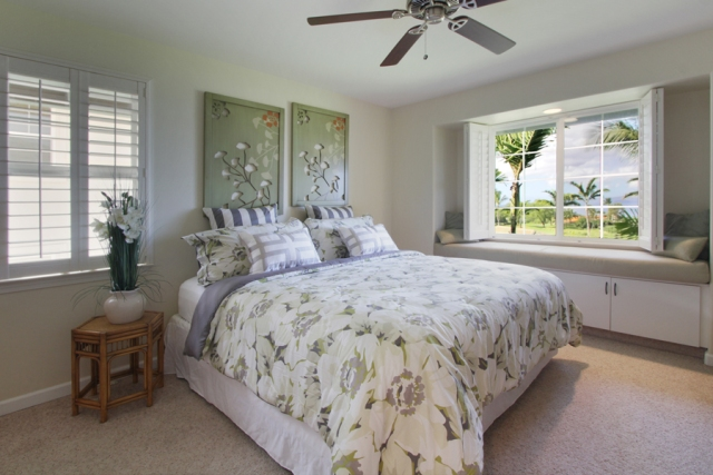 Wailea Fairway Villa K201 Master bedroom
