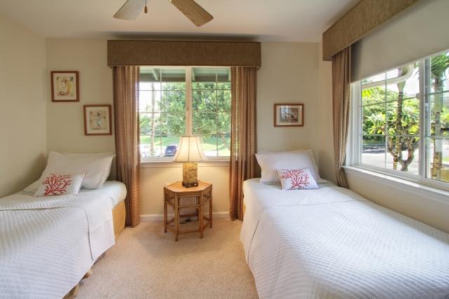 Wailea Fairway Villas K201 second bedroom