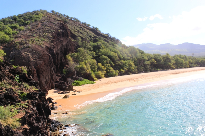 """Big Beach"" in Makena on Maui"