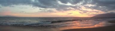Kamaole Beach or otherwise known as Charley Young Beach in Kihei, Maui, Hawaii