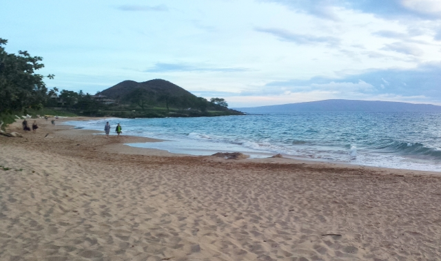 Maluaka Beach, Makena, Maui~ sunset time
