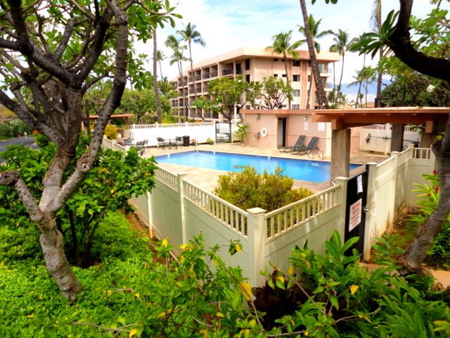 There are Two Pools at Kihei Akahi Resort