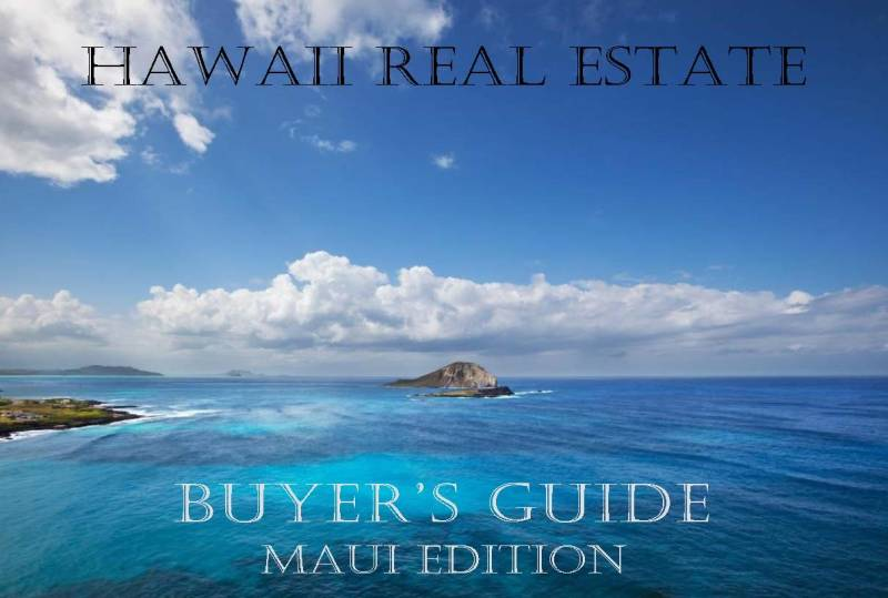 Hawaii Real Estate Buyers Guide Cover-Maui Edition