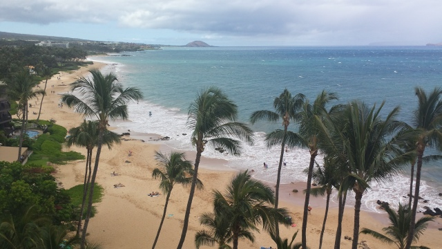 Keawekapu Beach, Maui Hawaii ~ View from Mana Kai Condominiums