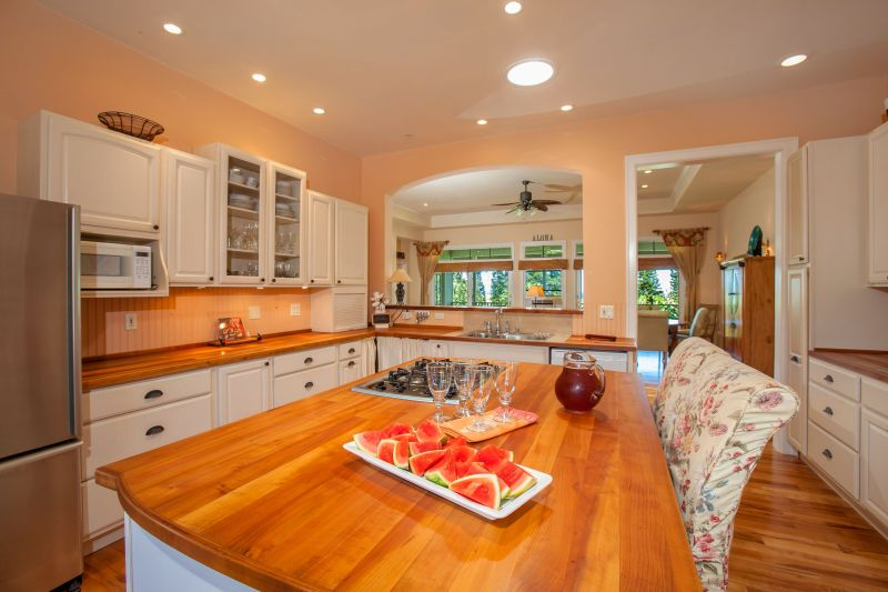 Maui Homes with Great country Kitchens offered for sale