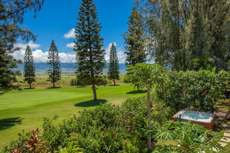 Maui Puklani Golf Course Classsic Home with Ocean Views Offered For Sale!