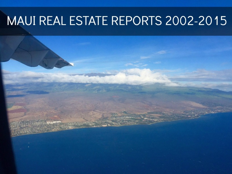 maui real estate market statistics historical and trends
